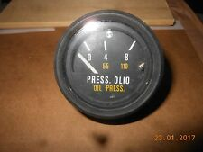 FIAT 124 SPORT- ANNO 1968-MANOMETRO PRESSIONE OLIO- N.O.S.
