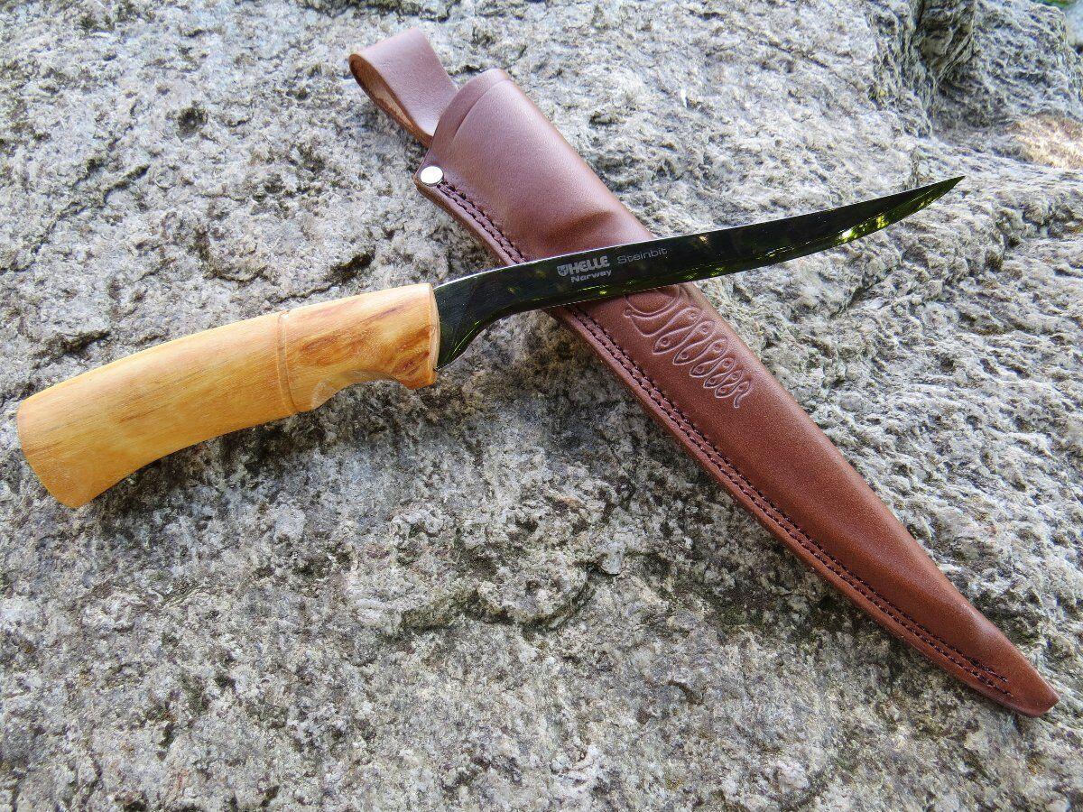Helle Steinbit Filiermesser Filetiermesser  Messer Fischmesser Norwegen 167515  cheap online
