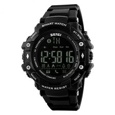 SKMEI Men's Bluetooth smart watch Pedometer Calorie,Distance,Call Remind - Black