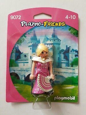 PLAYMOBIL N° 9072 PLAYMO-FRIENDS FIGURINE PRINCESSE AVEC ÉVENTAIL SOUS BLISTER