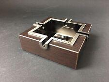 MARLBORO Design Aschenbecher Holz Metall Edel NEU Zigaretten Ashtray