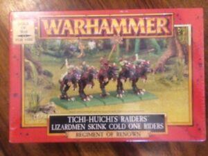 Chiens de guerre Tichi -huichi's Raiders Nouveau Régiment Scellé Renommé Warhammer