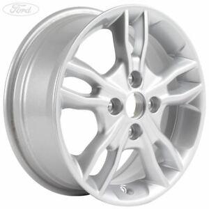 "Genuine Ford Fiesta 15"" Alloy Wheel 5x2 Spoke Design Sparkle Silver 2237371"