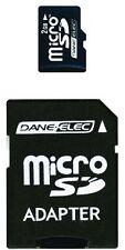 Dane-Elec 2 GB microSD Flash Memory Card with SD Adapter DA-2IN1-02G-R