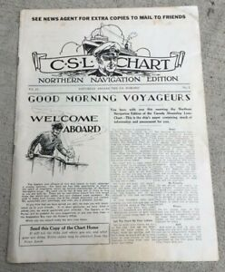 TRAGIC-SS-NORONIC-1929-ONBOARD-NEWSPAPER-CANADA-STEAMSHIP-LINES-118-LOST-IN-1949