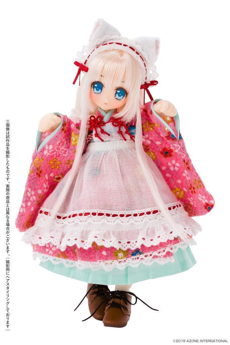 Azone Lil 'Hada poco Maid Lipu figura de muñeca de moda con seguimiento Nuevo