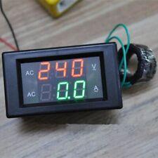 Digital Current Meter Volt Amp Voltage Ampere Panel Meter Voltmeter Ammeter Ampe