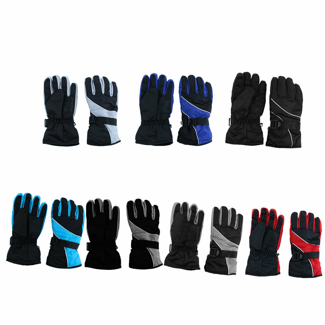 Motorcycle Climbing Winter Snowmobile Snowboard Ski Gloves Athletic Mittens Pair