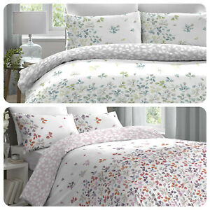 Dreams-amp-Drapes-EVIE-Colourful-Floral-Easy-Care-Duvet-Cover-Set