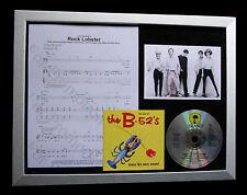 B-52's Rock Lobster LTD GALLERY QUALITY CD MUSIC FRAMED DISPLAY+FAST GLOBAL SHIP