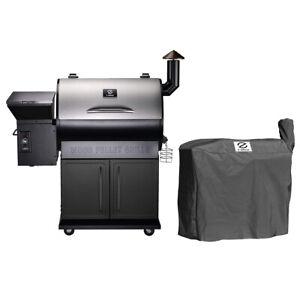 Z GRILLS ZPG-700E Wood Pellet Grill BBQ Smoker Digital ...