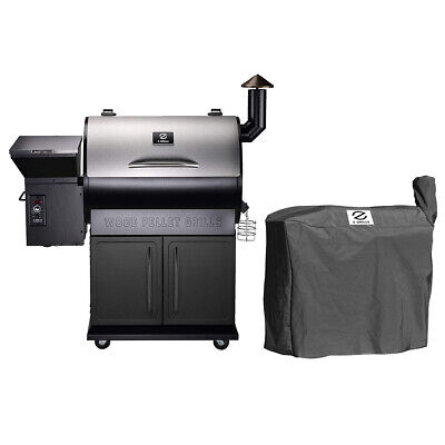 Z Grills Zpg 700e Wood Pellet Grill Bbq Smoker Digital Control With Cover 51497024888 Ebay