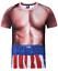 New-Fashion-Cool-Women-Men-Funny-Muscle-Print-3D-T-Shirt-Casual-Short-Sleeve-Tee thumbnail 32