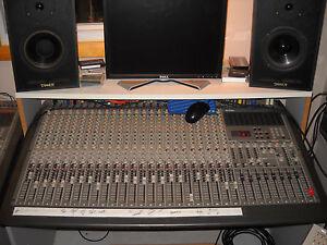 tascam m 2524 pro studio recording or pa dj club mixer mixing board console ebay. Black Bedroom Furniture Sets. Home Design Ideas