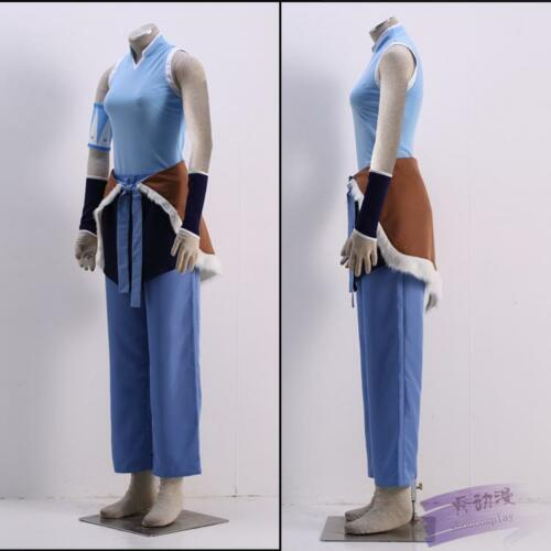 NEW The Legend of Korra Avatar Korra Suit Cosplay Costume