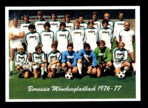 Borussia Mönchengladbach Mannschaftskarte 1976-77