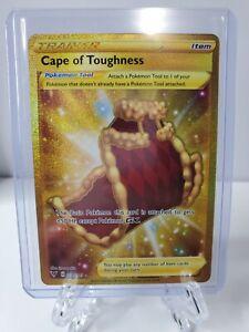 Cape Of Toughness 200/185 Vivid Voltage GOLD Secret Rare Pokemon Card MINT