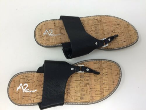 New with Defects A2 by Aerosoles Women/'s Cool Cat Sandal Black 67U
