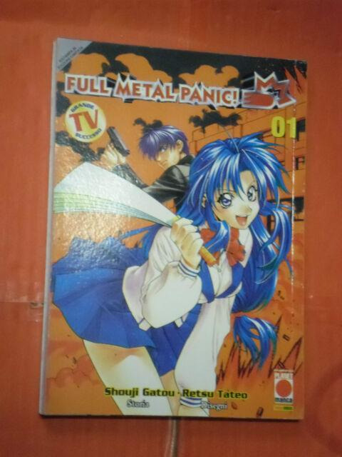 FULLMETAL PANIC N° 1 di SHOUJI GATOU -prima 1° edizione manga panini no sigma