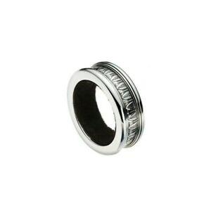 Malmaison-by-Christofle-Paris-France-Silver-Plate-Bottle-Ring-Bacchus-New