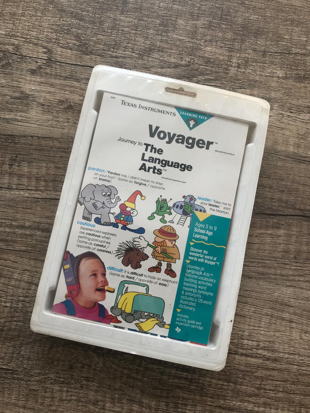 Texas Instruments Voyager Cochetucho-Viaje A Artes de lenguaje