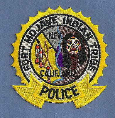 FORT DUCHESNE UTAH NORTHERN UTE TRIBAL POLICE SHOULDER PATCH