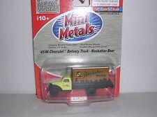 CMW Mini Metals #30269 1941//46 Chevrolet Pickup Truck HO 1:87 Yellow /& Black