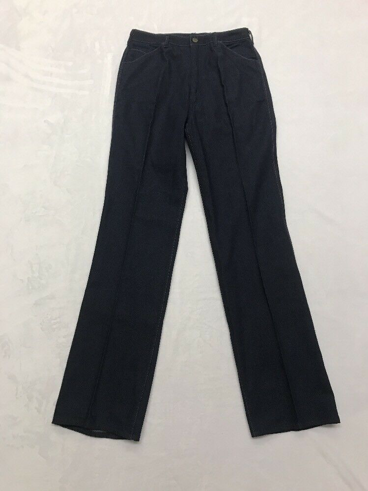 RARE Vintage 70s Jeans Deadstock Wide Leg High Wa… - image 6