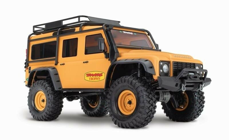 Trx-4 1 10 Land Rover Defender Trophy BRUSHLESS LIGHT LIMITED EDITION AXE 1800kv