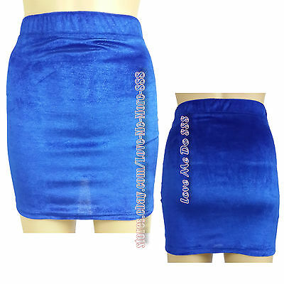 Womens Solid Plain Basic Casual Club Party PENCILTight Slim Fit Mini Skirt Dress