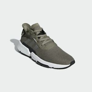 Details about MENS ADIDAS RUNNING SHOES POD S3.1 B37369 KHAKI GREEN SIZE 8 12