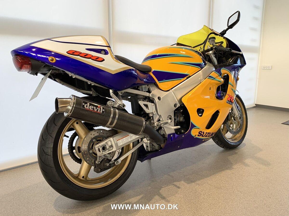 Suzuki, NEDSAT - GSXR600, 600 ccm - dba.dk - Køb og Salg