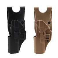 Tactical Gun Holster Left Hand Waist Belt Pistol Holster For Glock 17 19 22 23