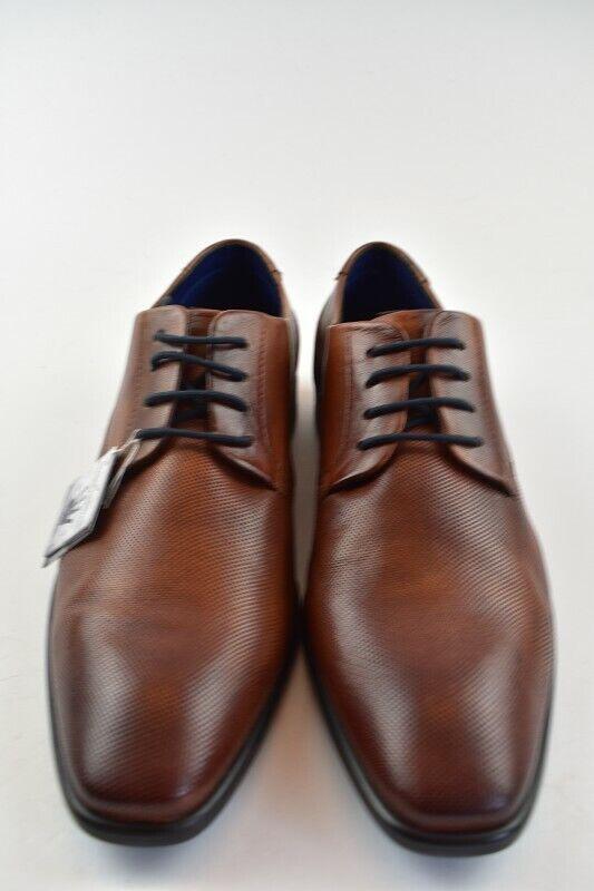 Gr.42 Business Schuh Hechter Cognac Daniel Leder