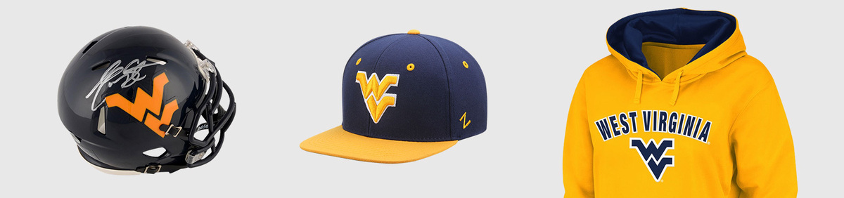 7bb1512094a Shop Event West Virginia Mountaineers Authentic fan apparel   collectibles