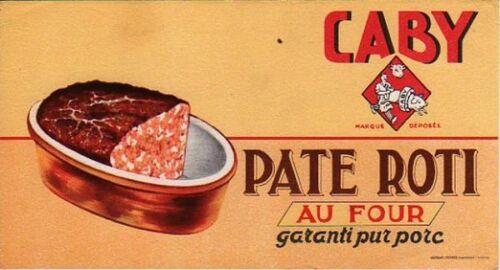 BUVARD 105962 CABY PATE ROTI