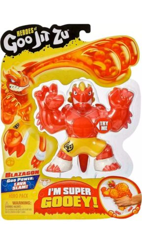Heroes Of Goo Jit Zu Blazagon Hero Pack Action Figure BRAND *NEW*