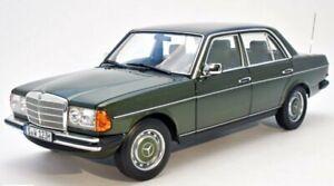 MB Mercedes Benz 200 - W123 - 1980 / 1985 - cypress greenmetallic - Norev 1:18