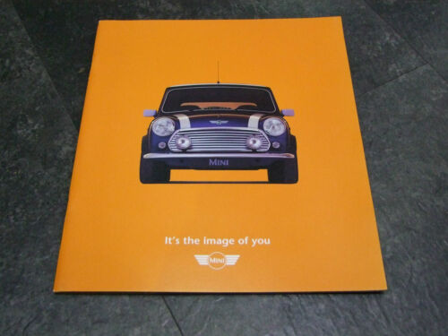 """MINI /""""THE IMAGE OF YOU/"""" BROCHURE FROM 1999 GREAT BROCHURE"""