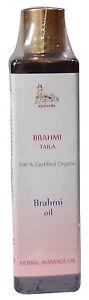 Organic-BRAHMI-Oil-200ml-USDA-Certified-Organic-Gopala-Ayurveda