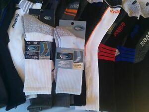 12-pair-socks-Smooth-Toe-Driwear-Cotton-works-sports-antibacterial-size-7-11