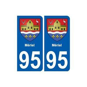 95-Meriel-blason-autocollant-plaque-stickers-ville-droits