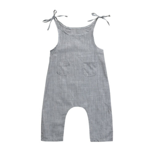 Newborn Baby Girl Boy Knitted Princess Overall Bodysuit Clothes Outfit Romper