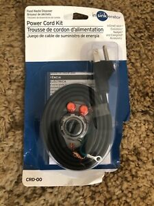 InSinkErator CRD-00 Power Cord Kit Pack of 1 Black