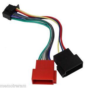 Adaptateur-cable-faisceau-fiche-pour-autoradio-SONY-CDX-GT470UM-GT472UM-GT474UM