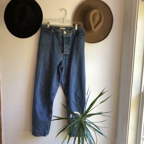 Jesse Kamm High Rise Cowboy blue Ranger Jeans Size