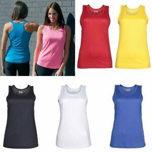 AWDis-Just-Cool-Tank-Vest-JC015-Various-Designs-Keep-Fit-Running-Gym