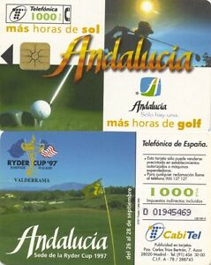 1000 PTA. Cabitel. Andalucía, sede de la Ryder Cup 1997.