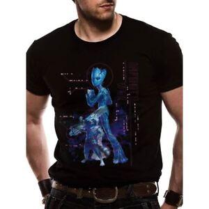 OFFICIEL-Unisexe-Marvel-Avengers-Infinity-guerre-neon-Groot-et-Rocket-T-Shirt