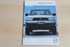 81968) Mazda B-Serie Prospekt 06/1999